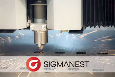 SigmaNEST – program CAD/CAM do nestingu (Program ERP - Plan-de-CAMpagne)